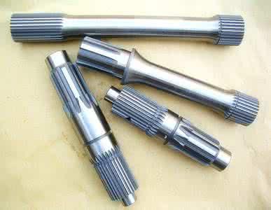 花键轴也可采用冷打、冷轧等塑性变形的加工方法